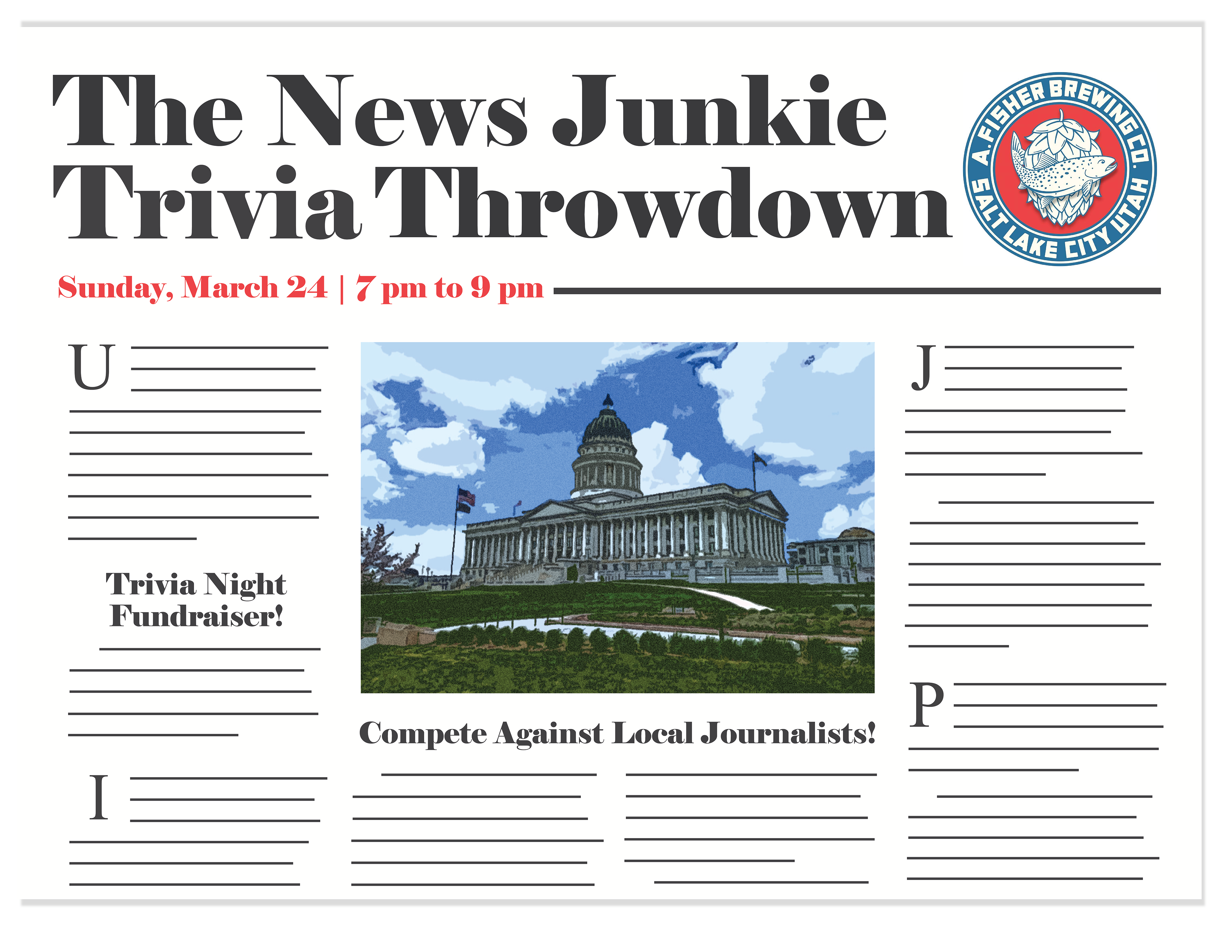 Compete against local journalists Ben Winslow and Robert Gehrke at our Trivia Night Fundraiser!