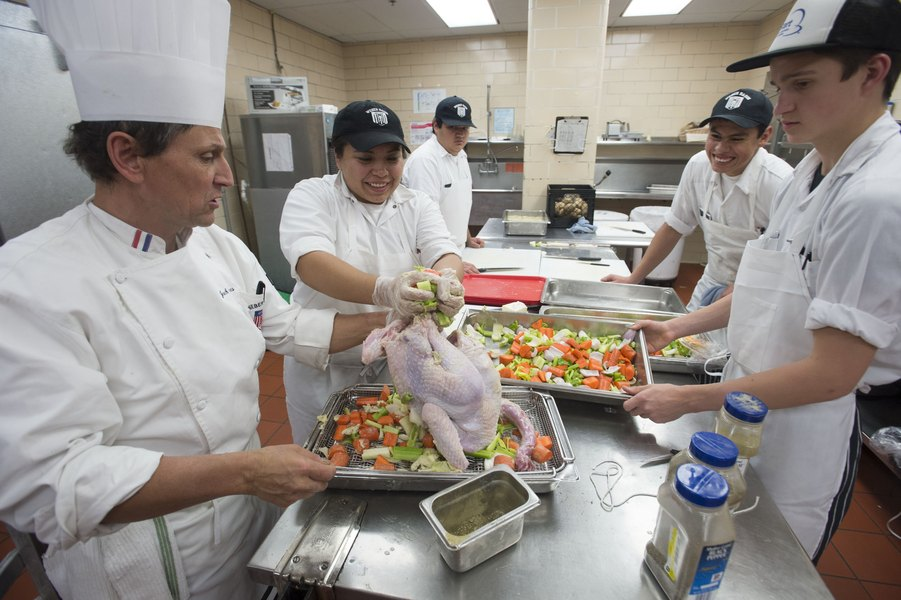 A culinary program is back in line seeking state money despite a highly critical audit and declining student participation