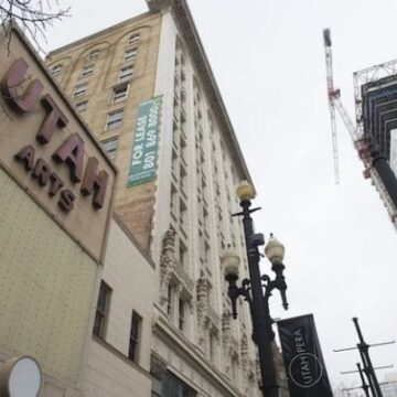 Developer of old Utah Theatre building made questionable donations in SLC mayoral race